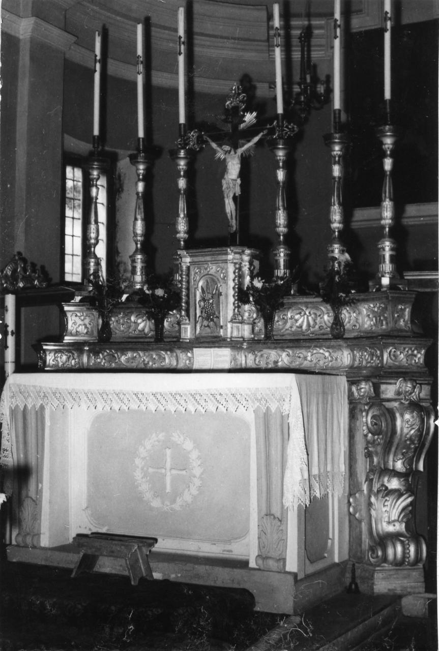 altare maggiore - bottega emiliana (sec. XVIII)