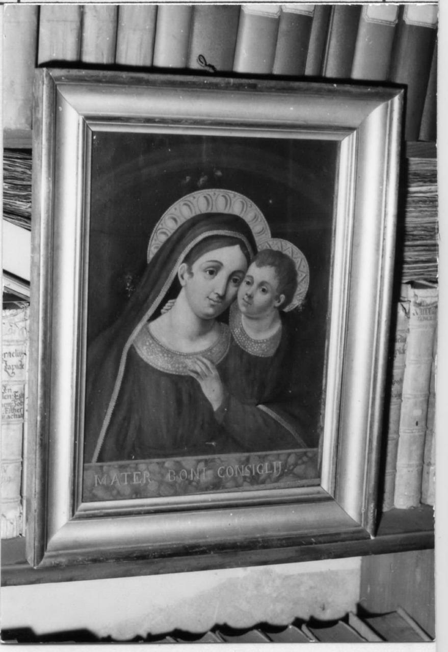 Madonna del Buon Consiglio (dipinto) - ambito carpigiano (inizio sec. XIX)