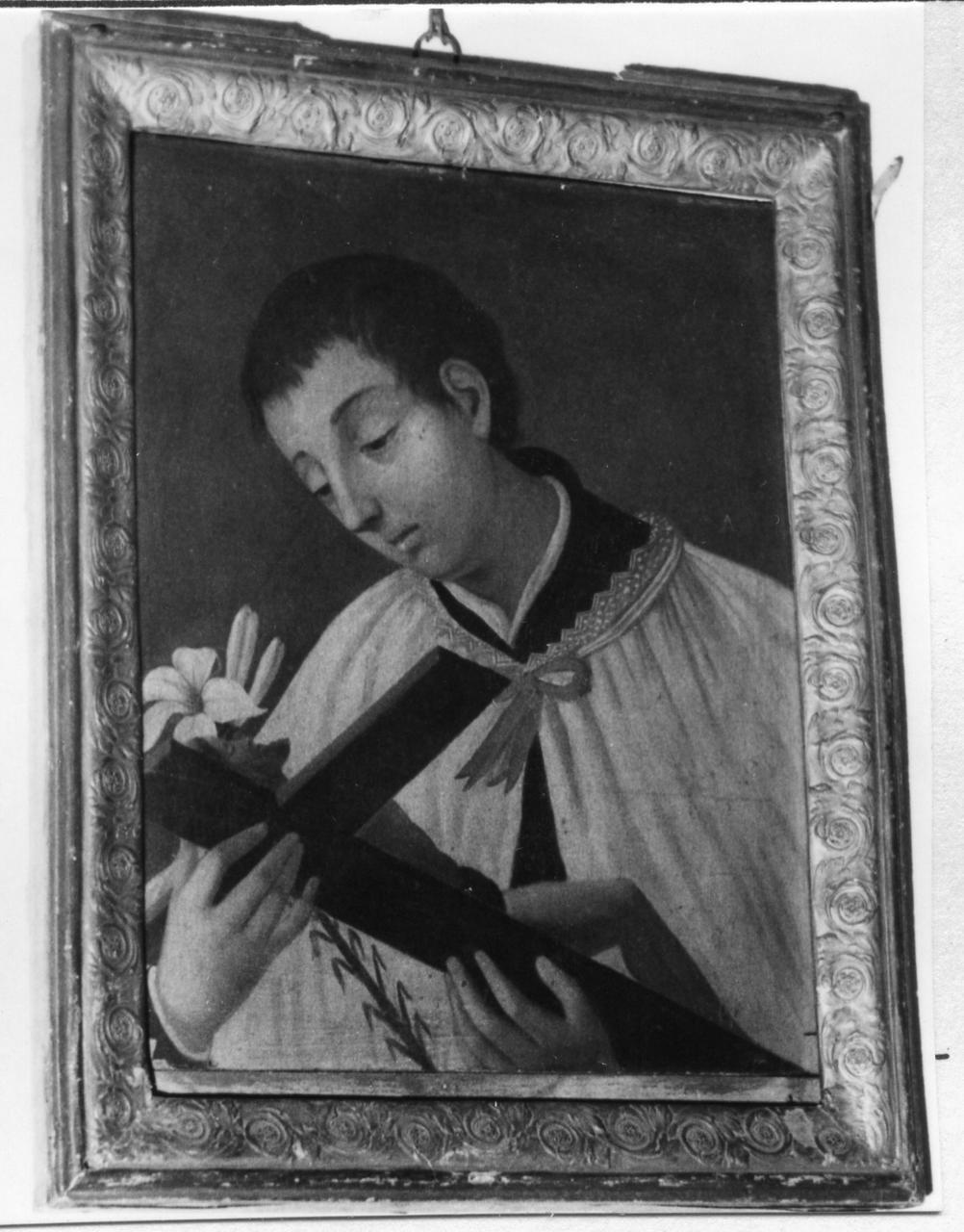 San Luigi Gonzaga (dipinto) - ambito modenese (sec. XIX)