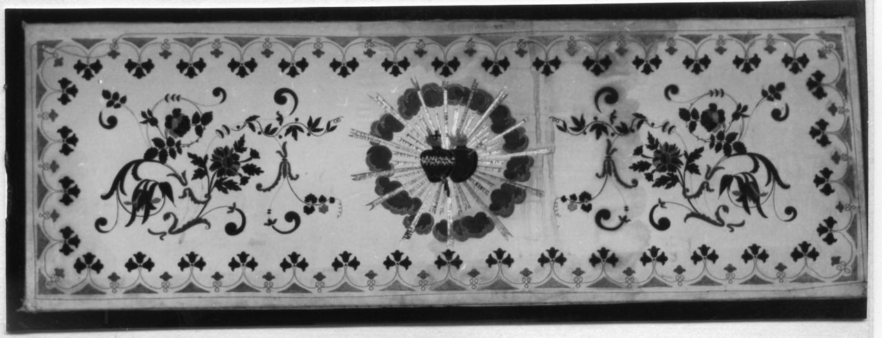 paliotto - manifattura carpigiana (metà sec. XIX)