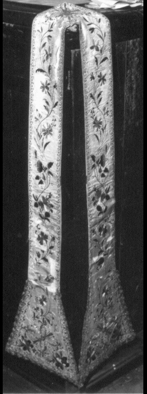 stola - manifattura italiana (sec. XIX)