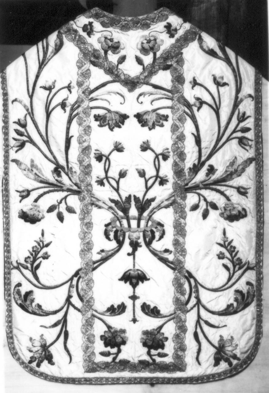 paramento liturgico - manifattura italiana (inizio sec. XIX)