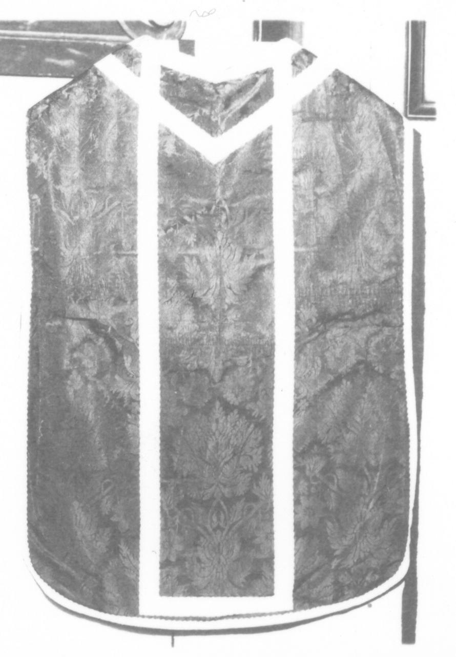 paramento liturgico - manifattura italiana (sec. XX)