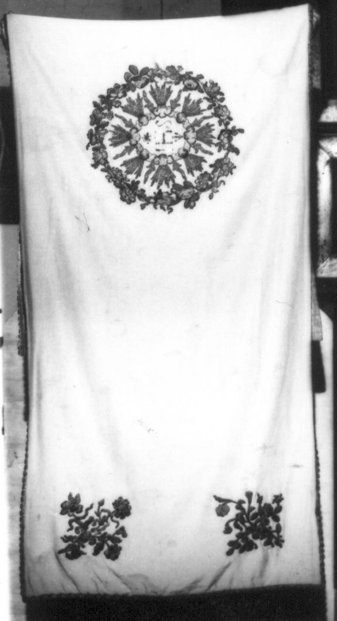 velo omerale - manifattura italiana (sec. XIX)