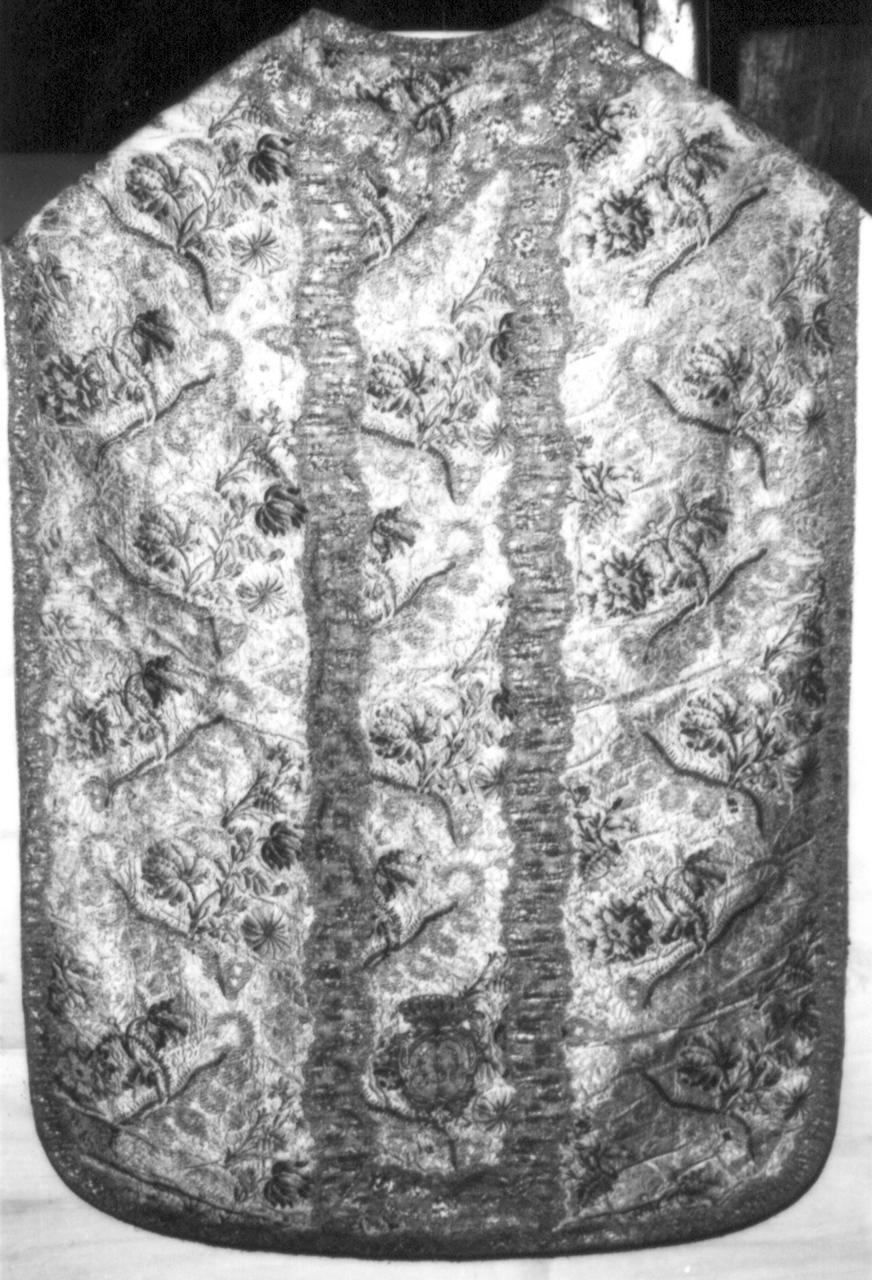 paramento liturgico - manifattura italiana (metà sec. XVIII)