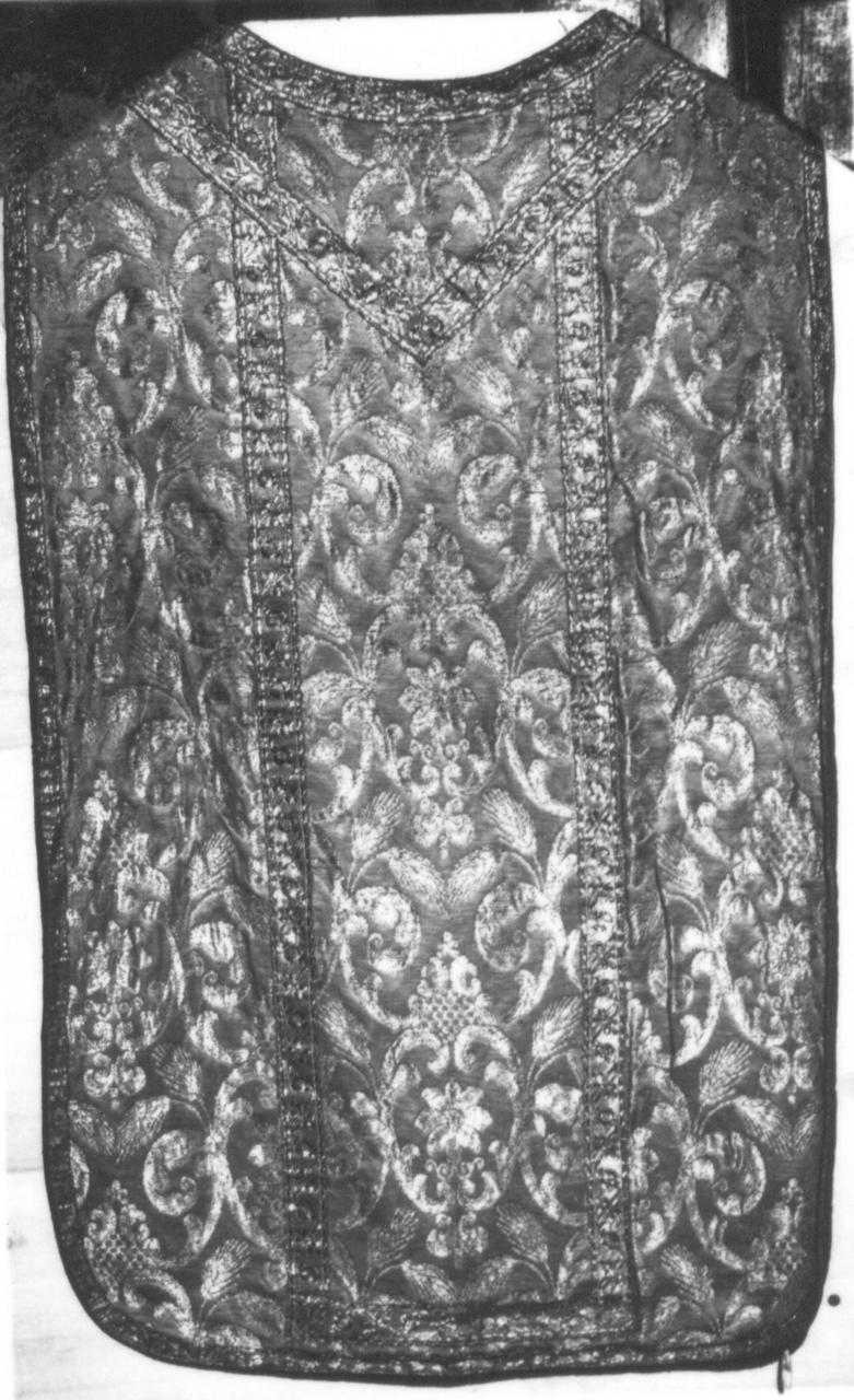 paramento liturgico - manifattura italiana (sec. XIX)
