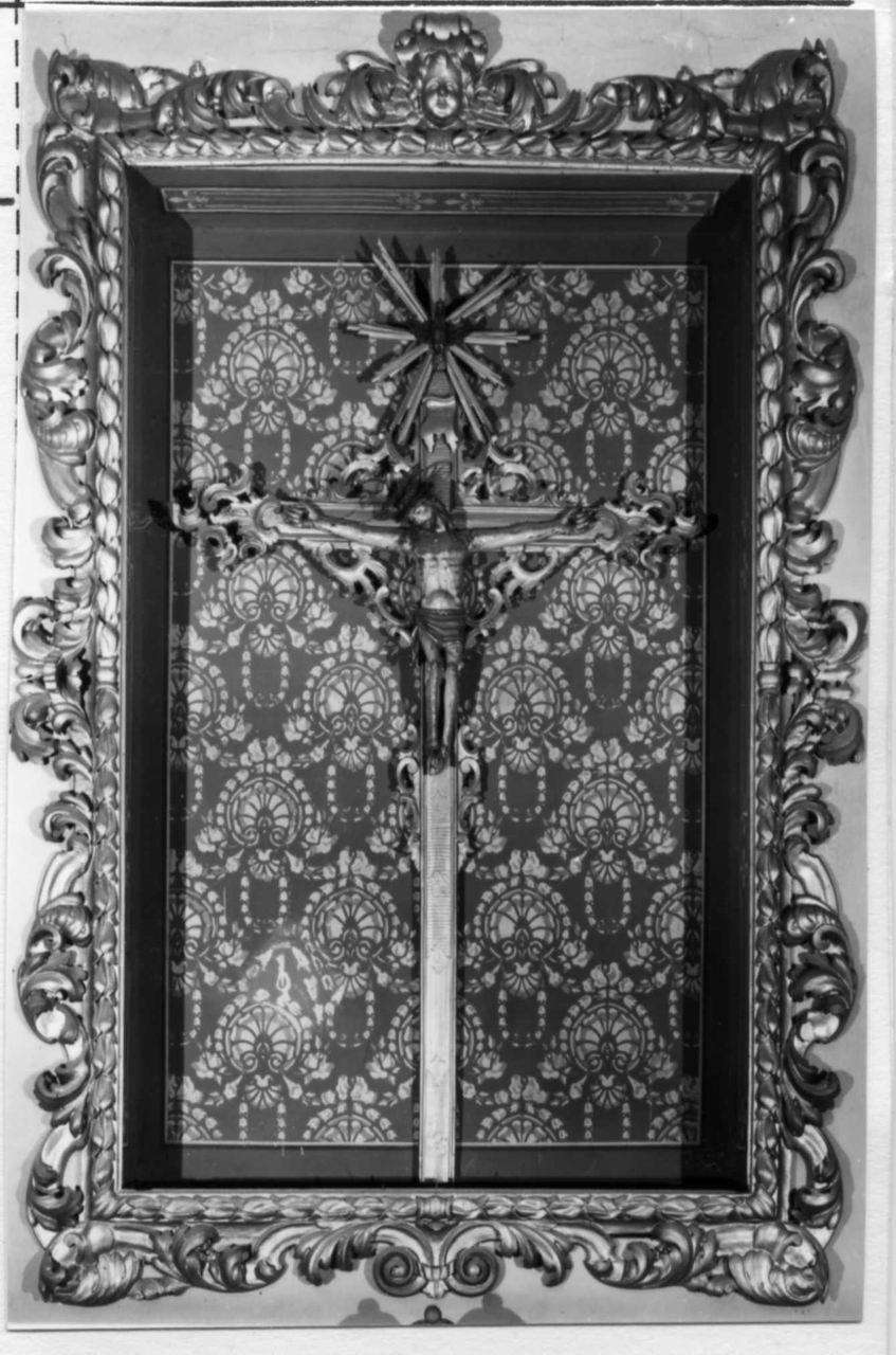 Cristo crocifisso (crocifisso) - bottega italiana (sec. XVIII)