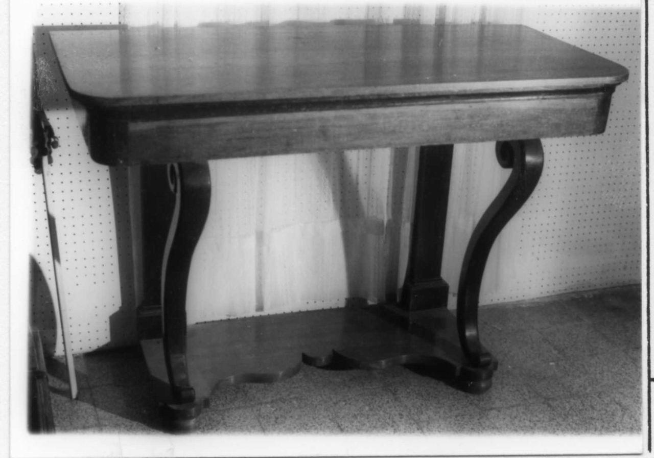 console, serie - bottega italiana (inizio sec. XIX)