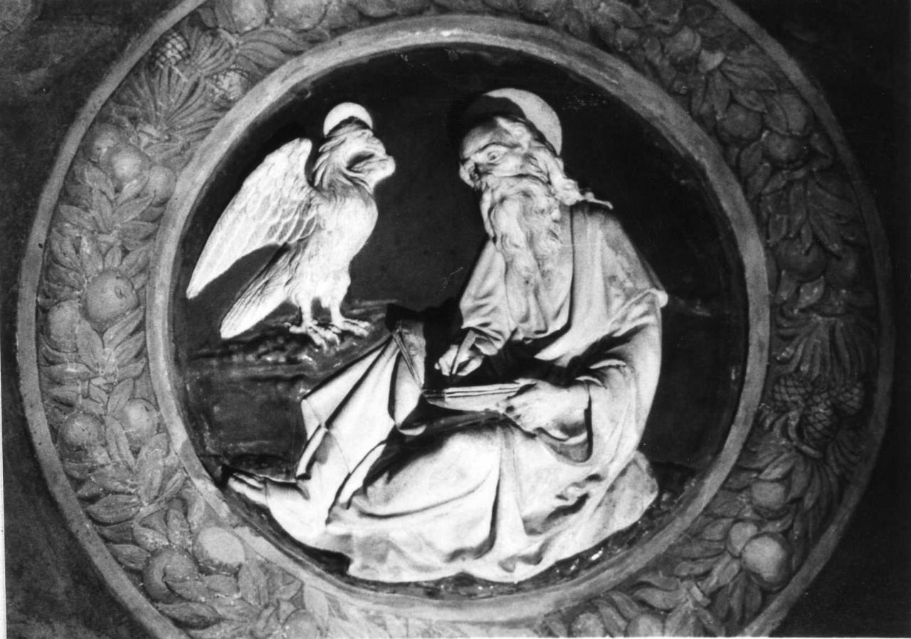 evangelista Giovanni (rilievo) di Della Robbia Andrea (inizio sec. XVI)