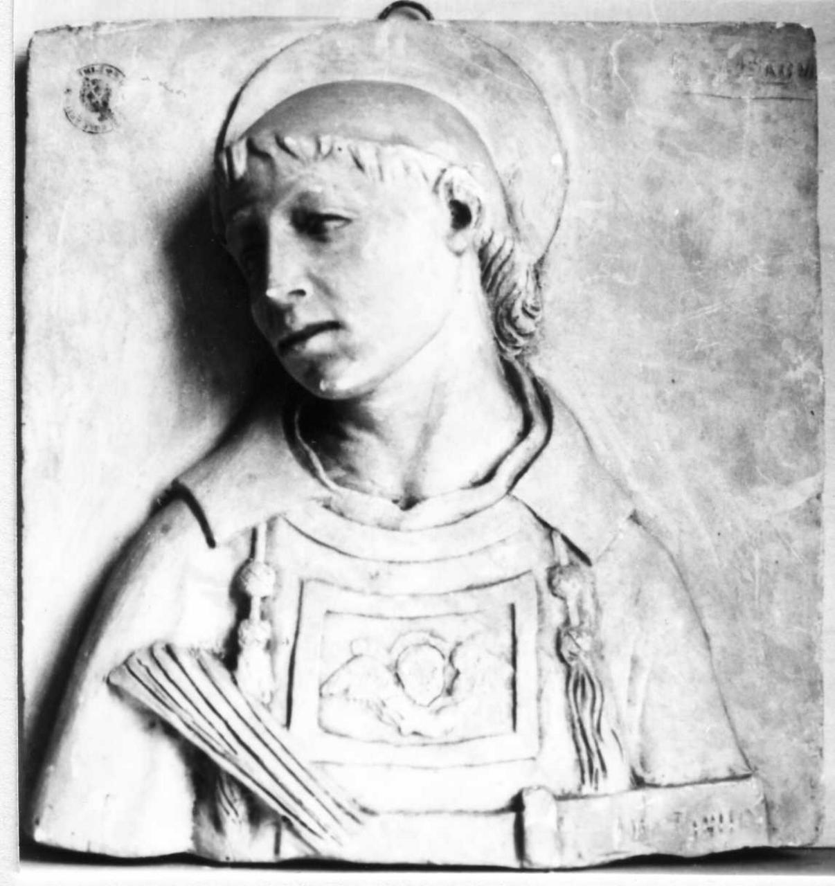 San Lorenzo (scultura) di Bagni Ersilio (inizio sec. XX)