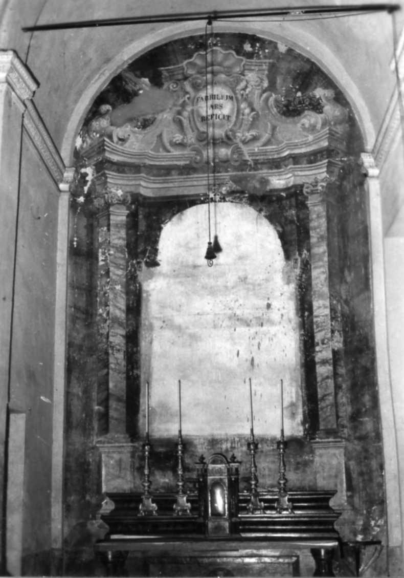 architettura illusionistica (dipinto) - ambito emiliano (seconda metà sec. XVIII)