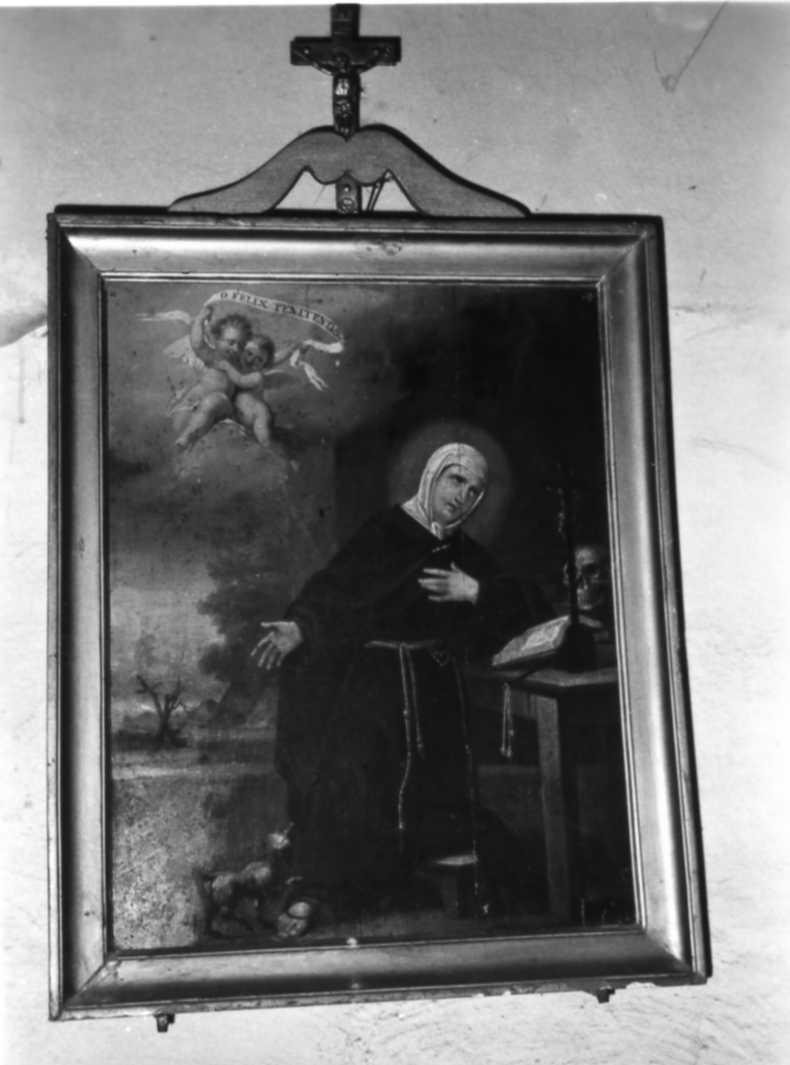 Santa Margherita da Cortona (dipinto) di Manzini Luigi (prima metà sec. XIX)