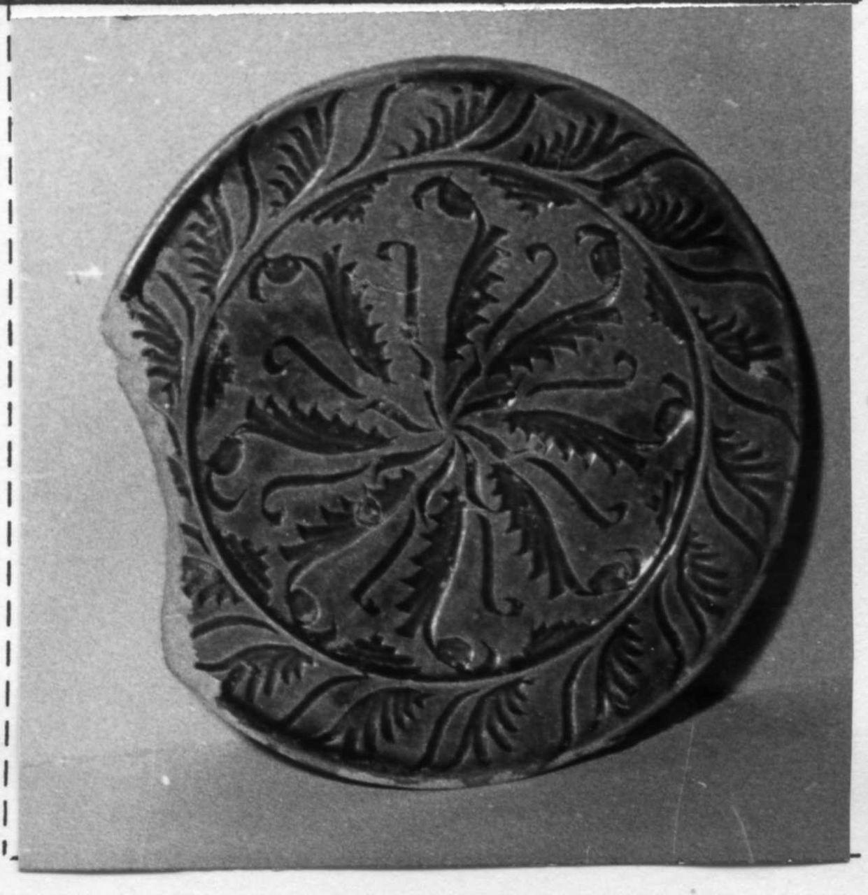 piatto - bottega carpigiana (fine sec. XVI)