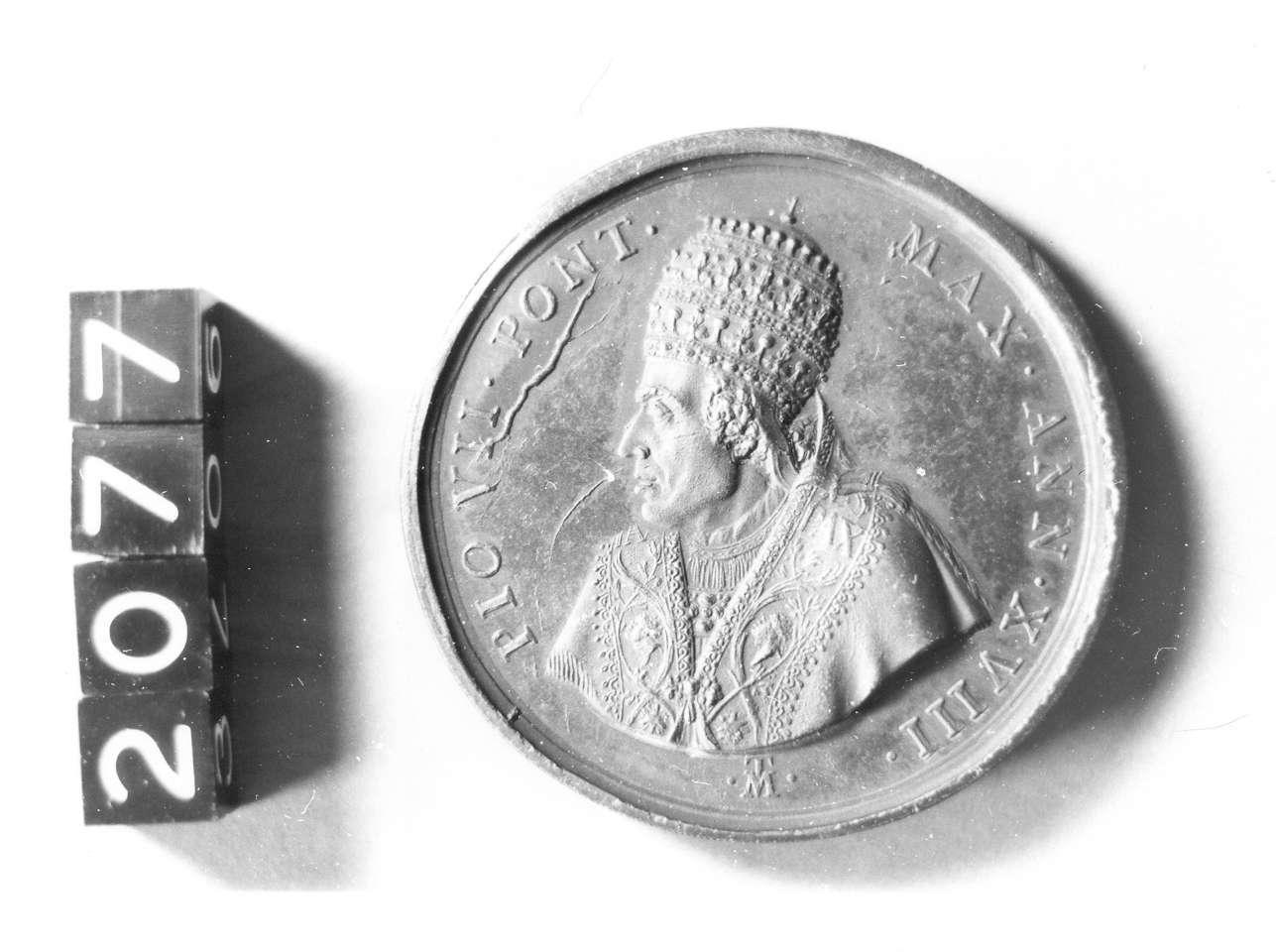 medaglia di Mercandetti Tommaso (sec. XIX d.C)