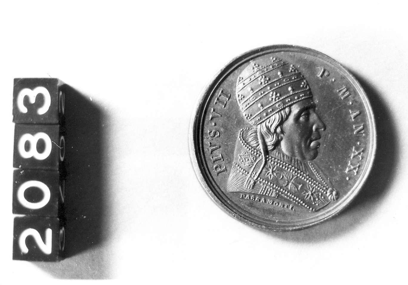 medaglia di Passamonti Salvatore (sec. XIX d.C)