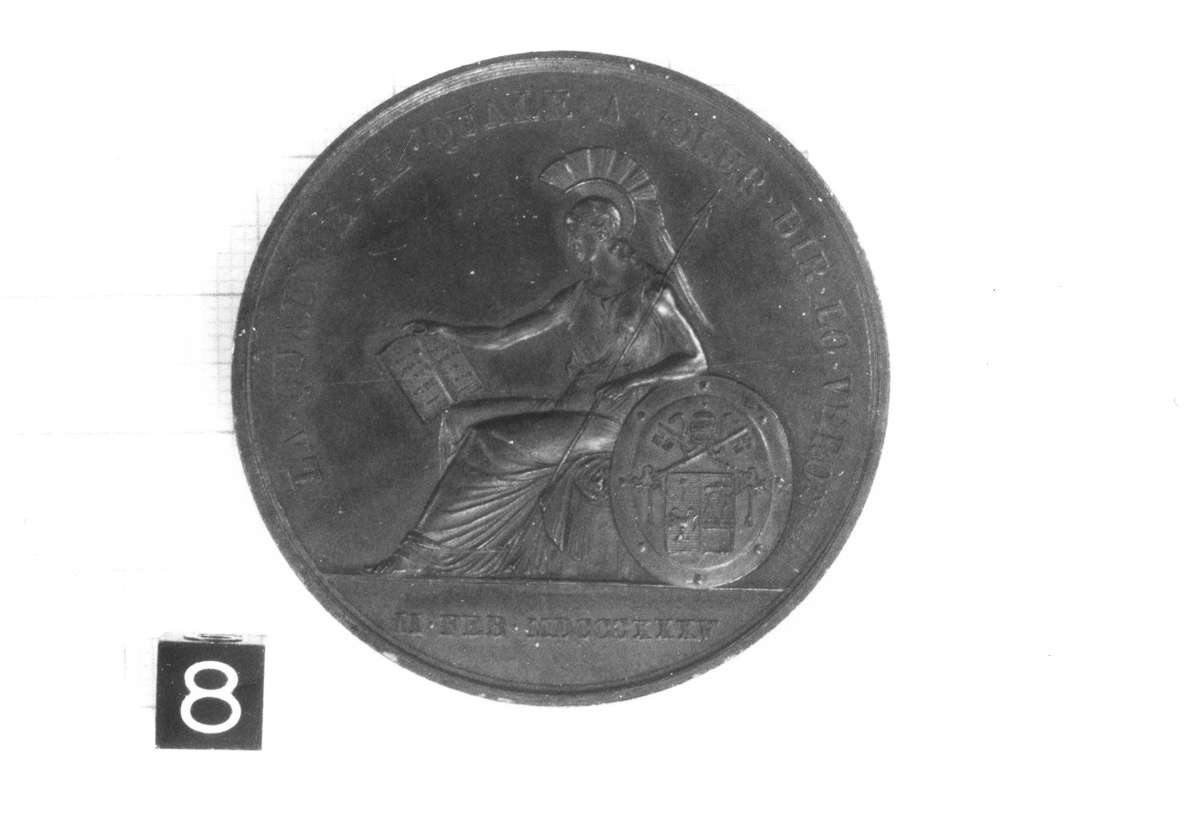 medaglia di Putinati Francesco (prima metà sec. XIX d.C)