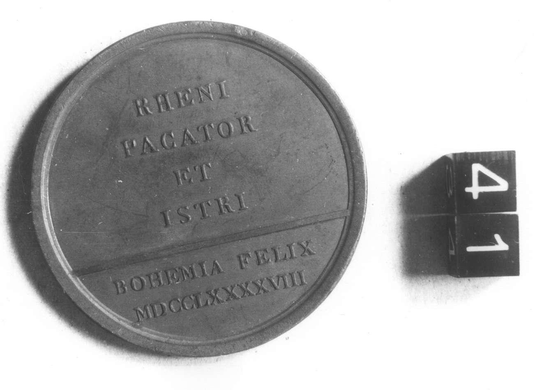 medaglia di Guillemard Anton (fine sec. XVIII d.C)