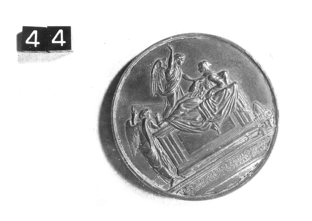 medaglia di Lang Josef Nikolaus (prima metà sec. XIX d.C)