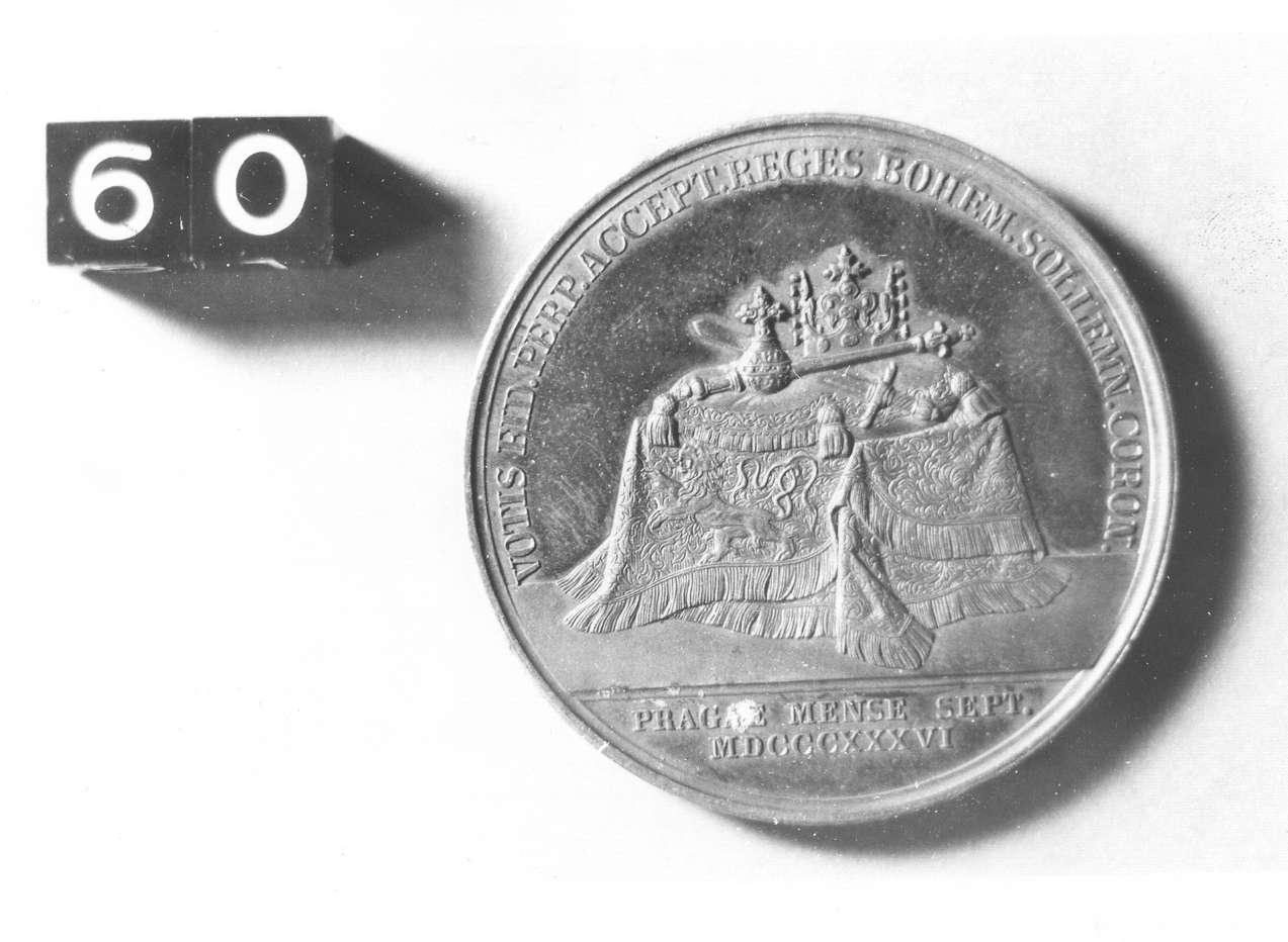 medaglia di Loos Gottfried Bernhard (sec. XIX d.C)