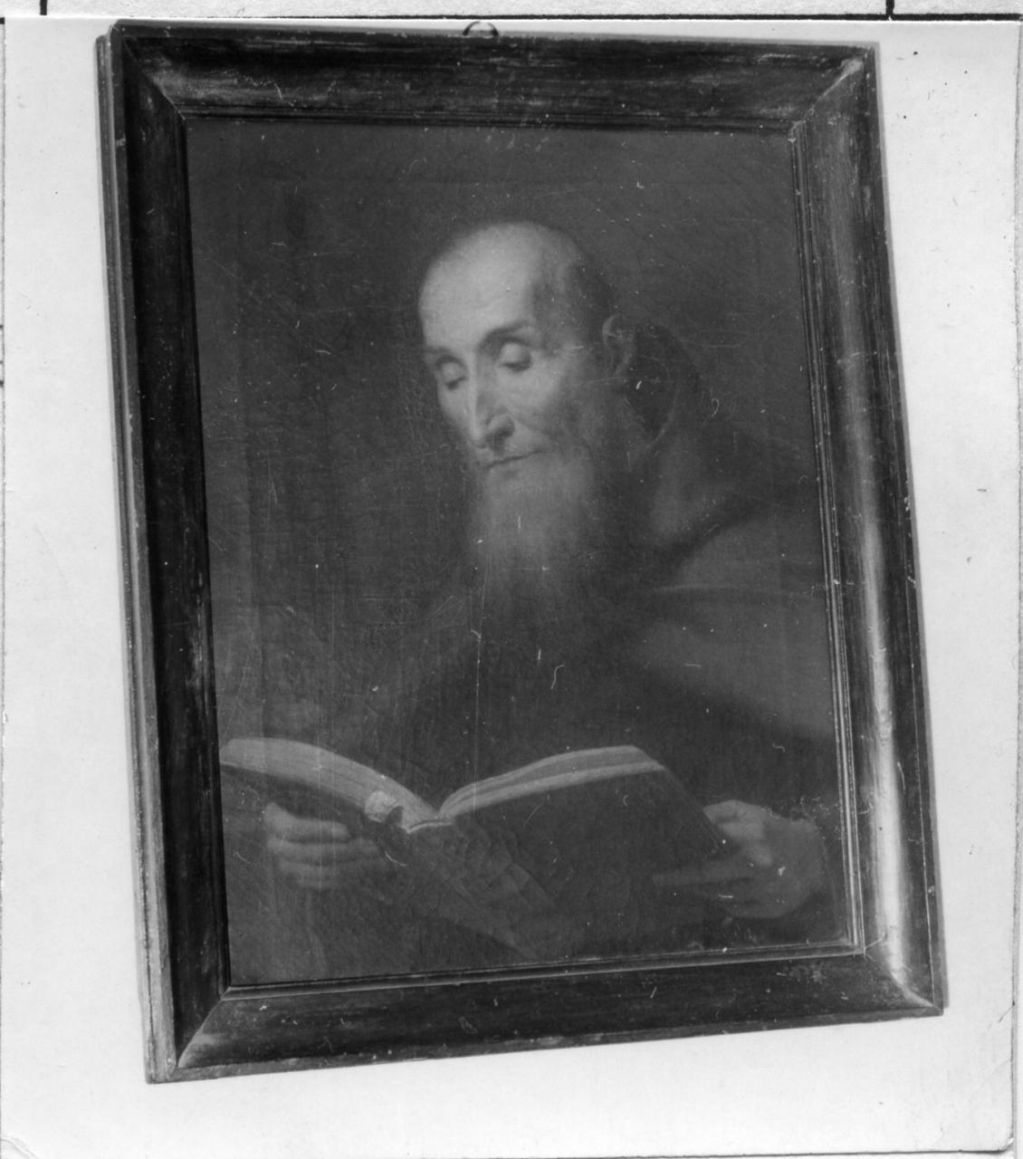 santo cappuccino (dipinto) - ambito emiliano (prima metà sec. XIX)