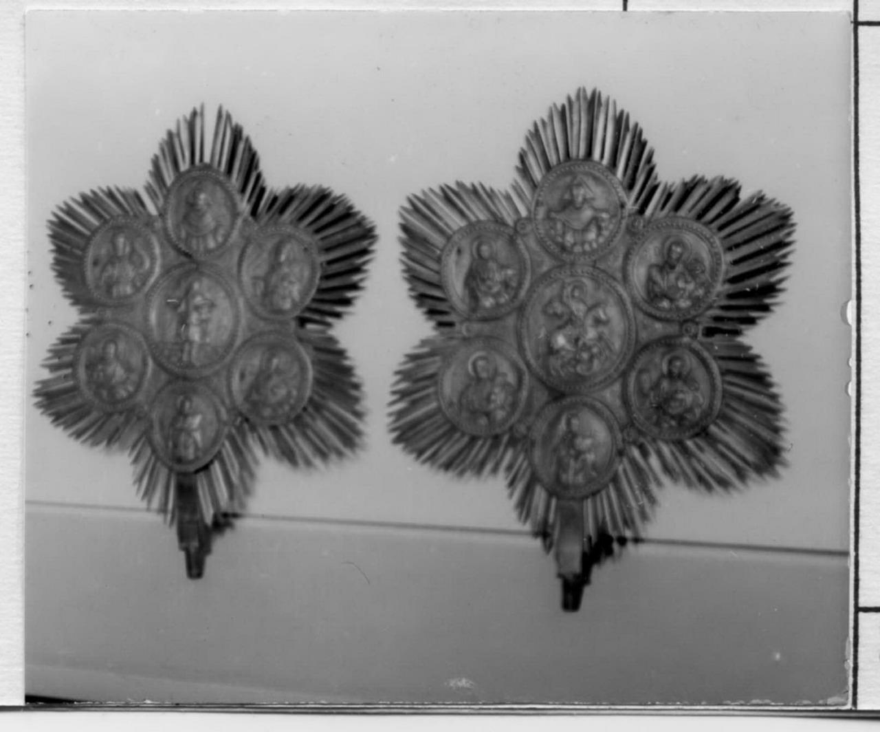 Santi (flabello, serie) - bottega balcanica (metà sec. XVIII)