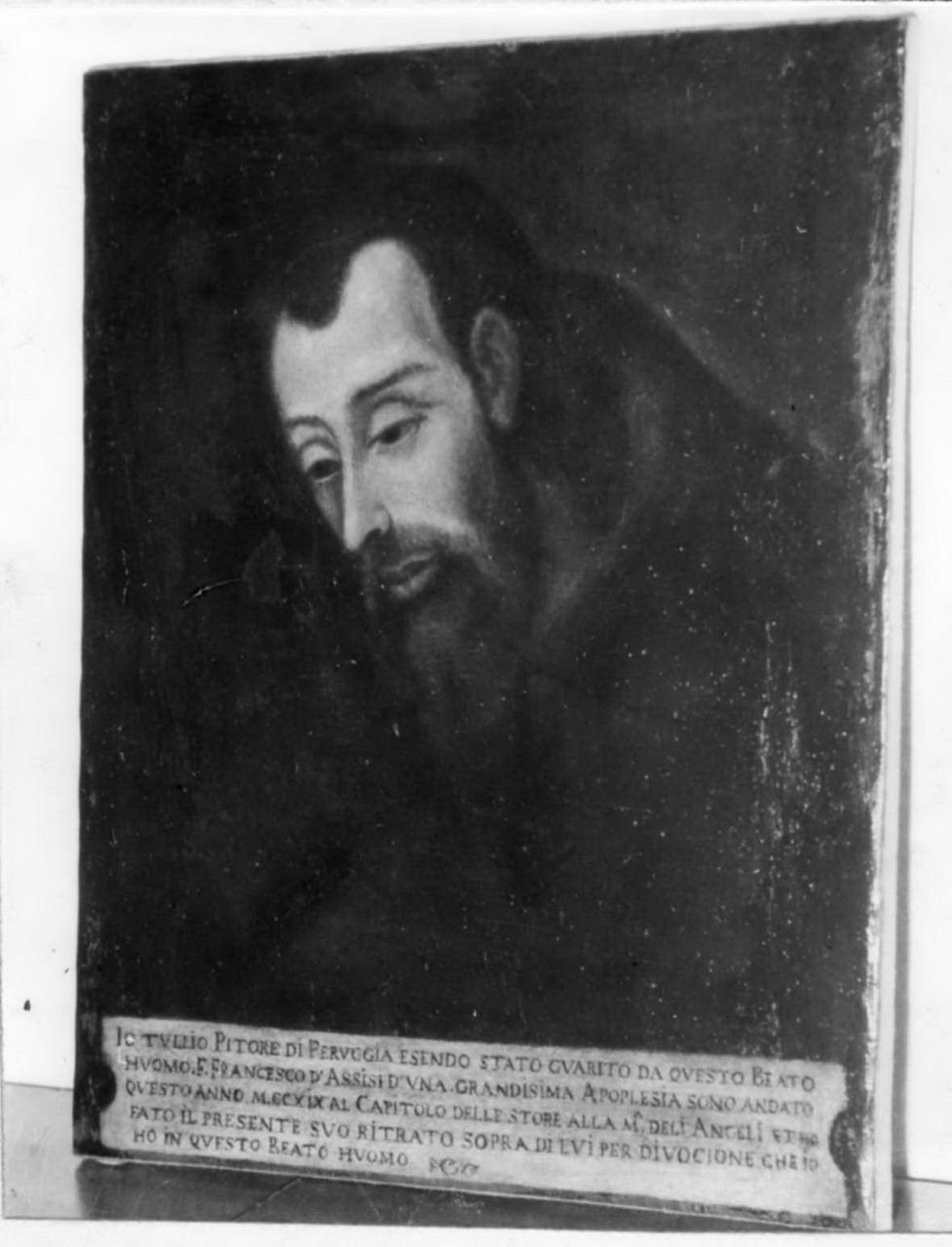 ritratto d'uomo (dipinto) - ambito emiliano (prima metà sec. XVIII)