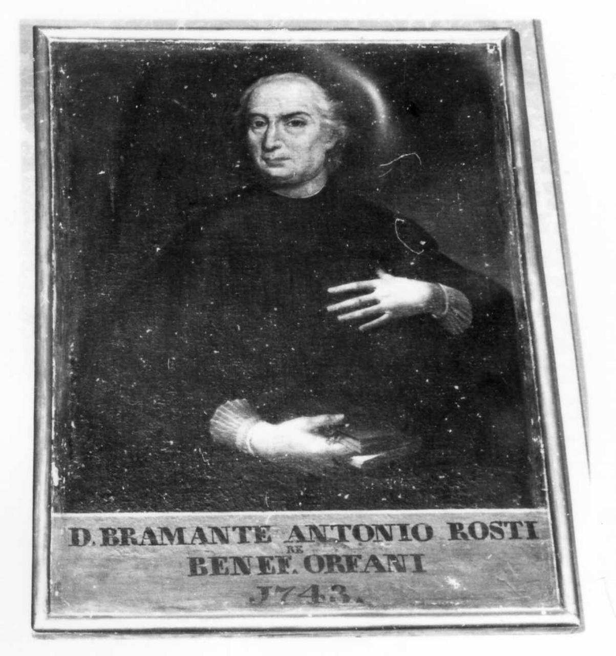 Don Antonio Rosti (dipinto) - ambito modenese (prima metà sec. XVIII)