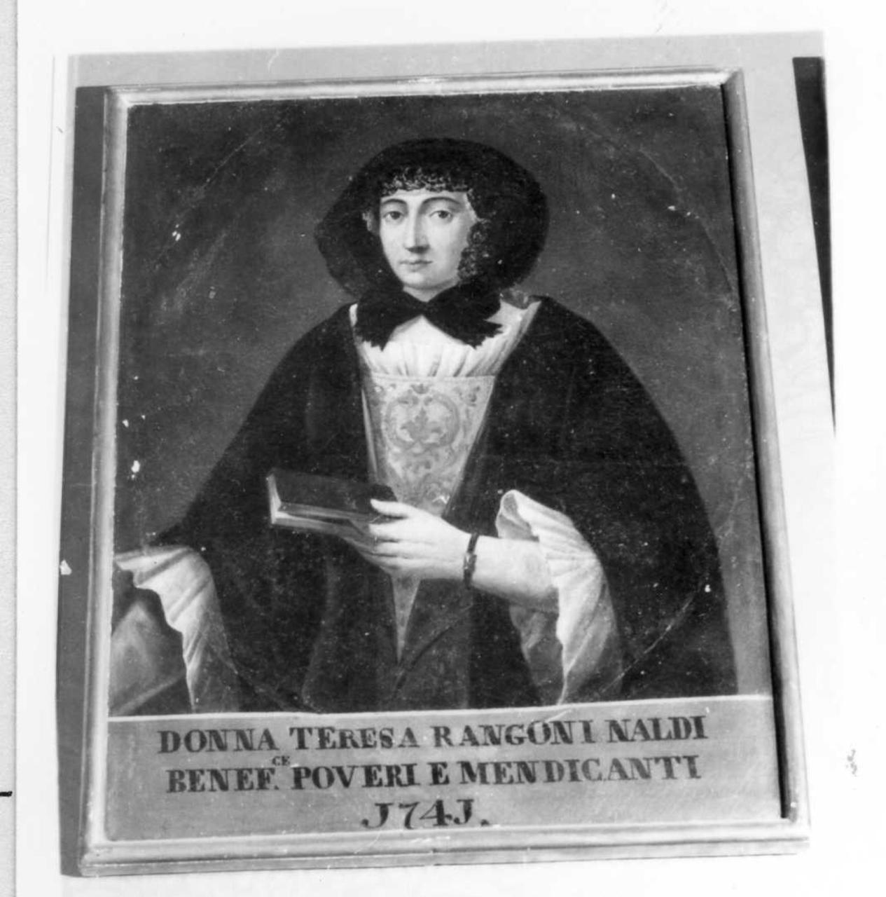 Teresa Rangoni Naldi (dipinto) - ambito modenese (prima metà sec. XVIII)