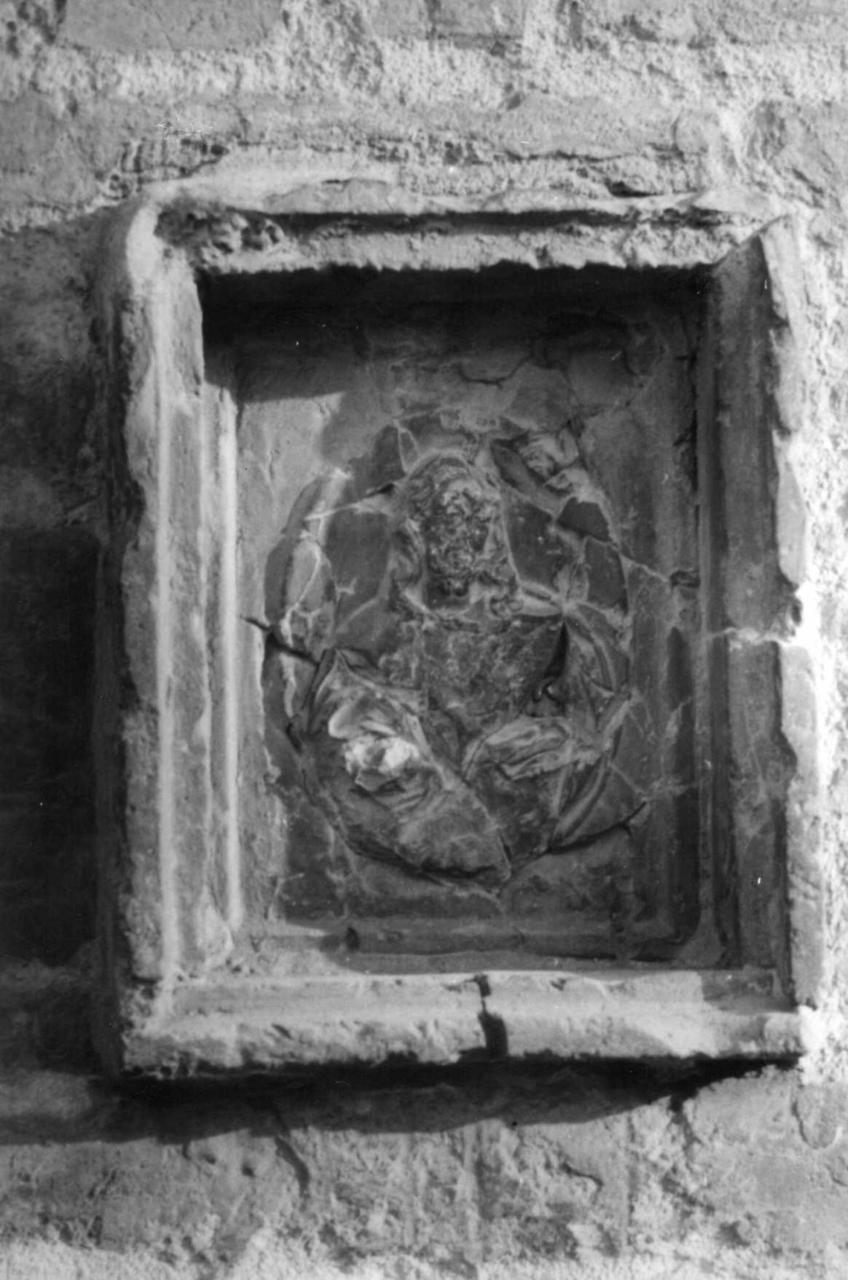 Sacro Cuore di Gesù (rilievo) - bottega bolognese (seconda metà sec. XVIII)