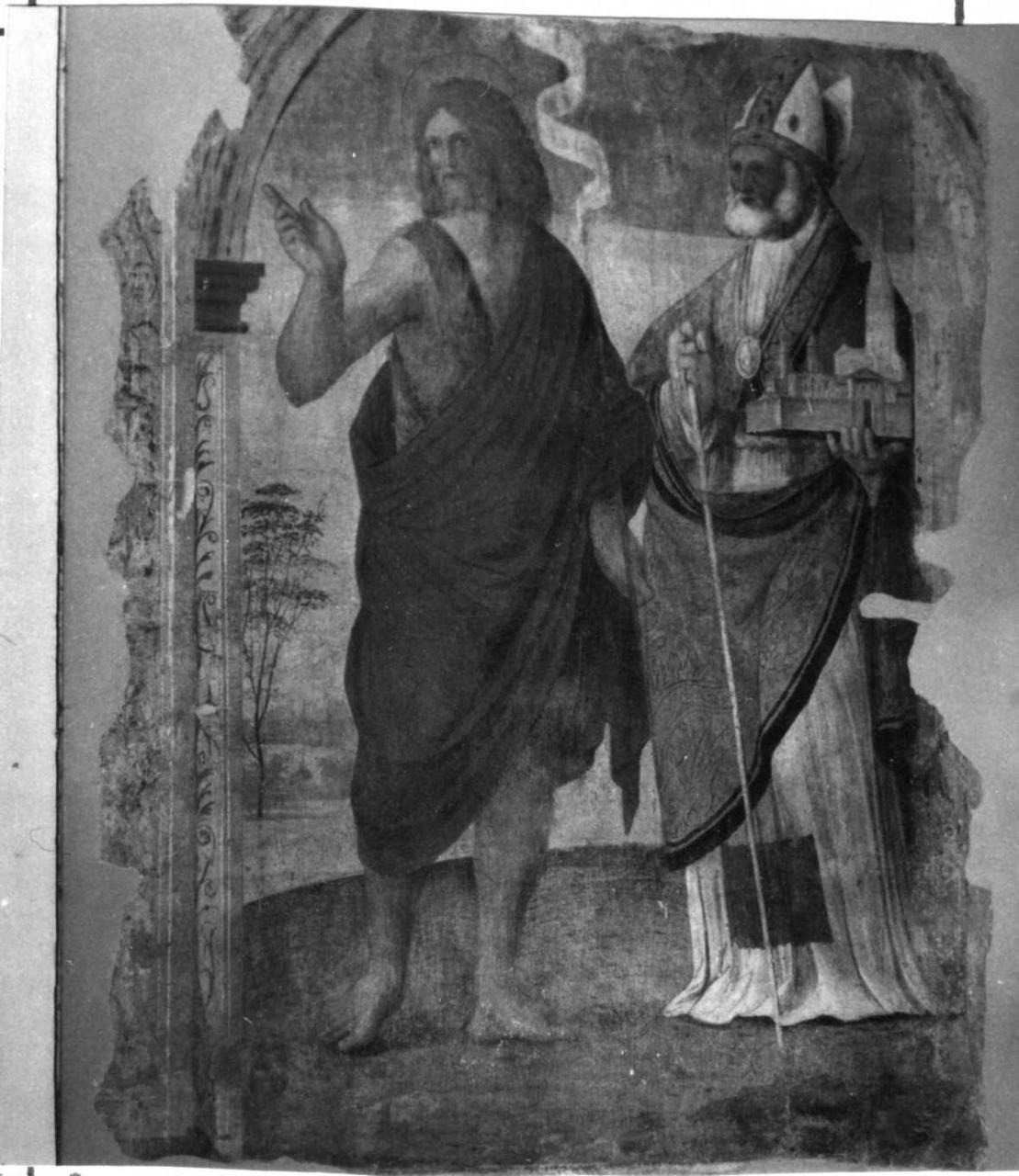 Storie della vita di San Lazzaro (dipinto, ciclo) di Setti Adamo, Setti Agostino (prima metà sec. XVI)