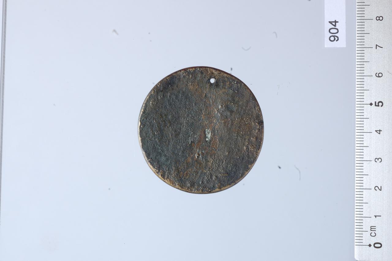 medaglia di Monogrammista T.R (ultimo quarto sec. XV)