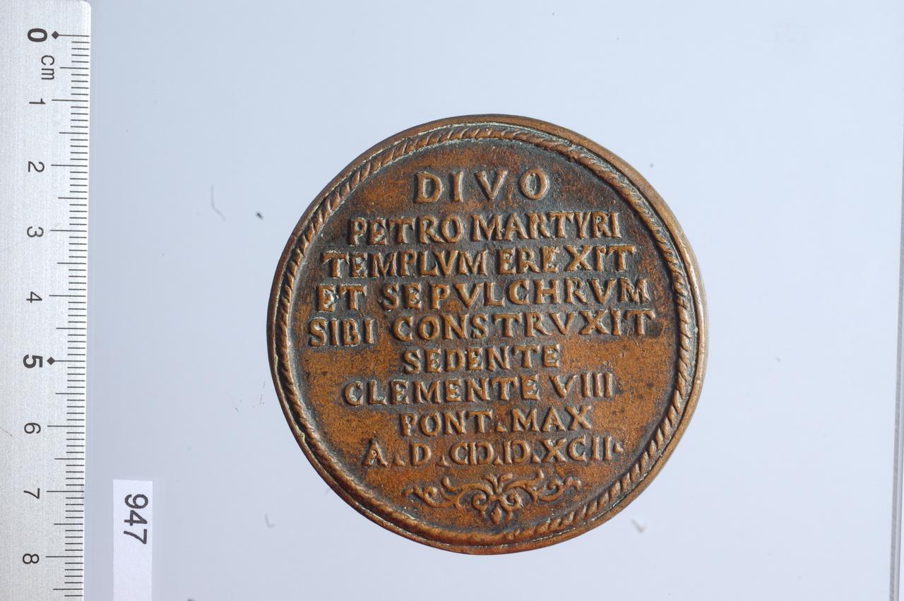 medaglia di Casoni Antonio Felice (sec. XVI)