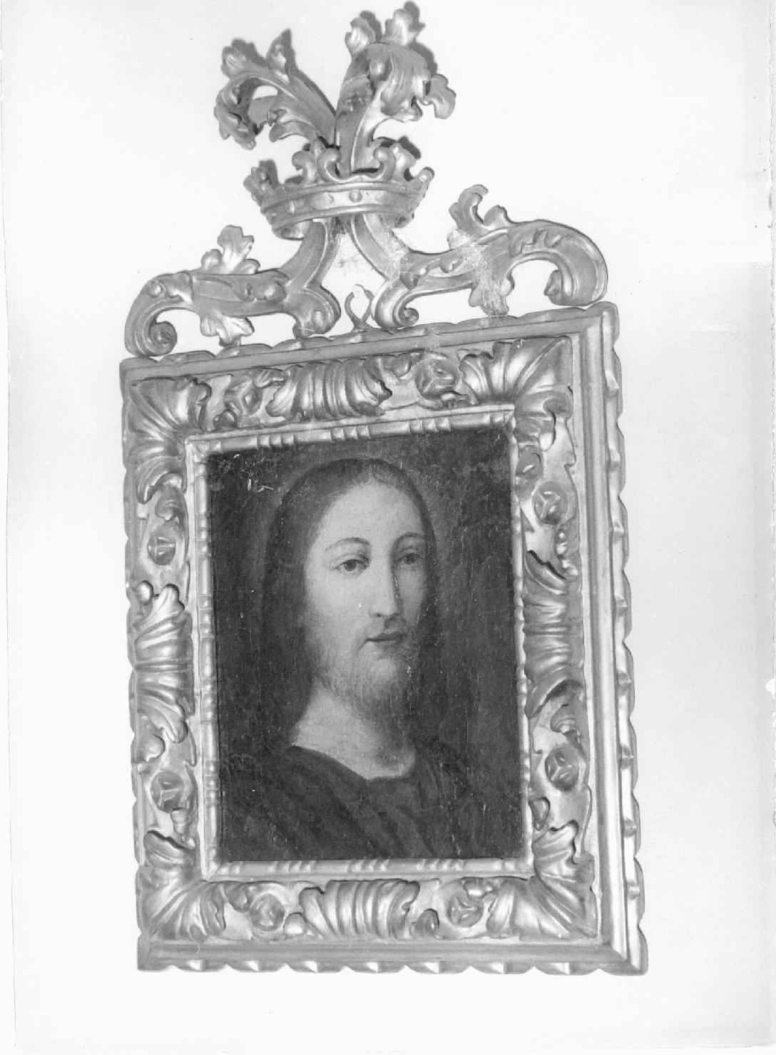 Cristo, Maria Vergine (dipinto, coppia) - ambito emiliano (sec. XIX)