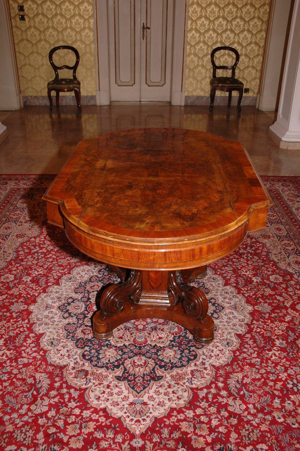 tavolo - bottega italiana (fine sec. XIX)