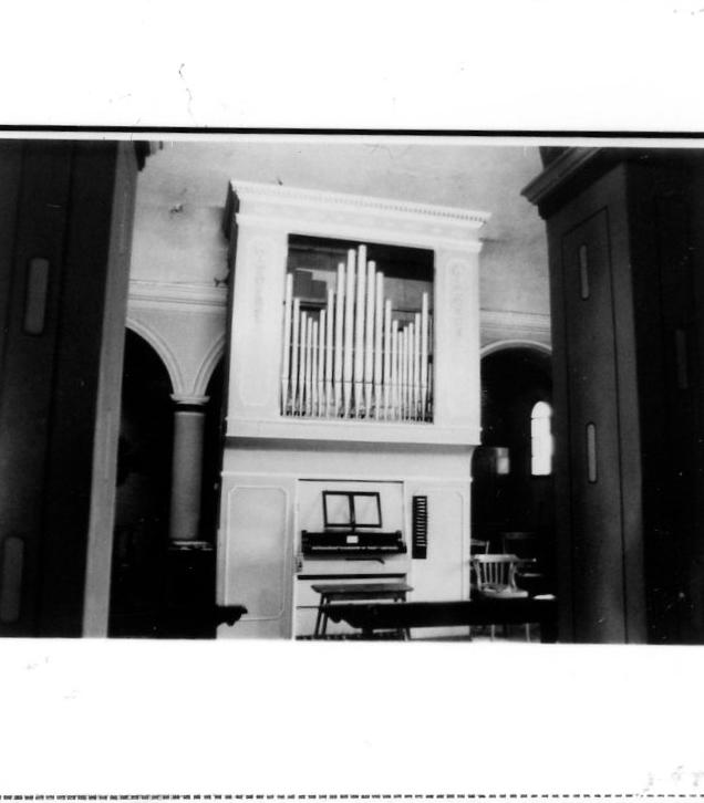 organo di Ghidoni Fortunato (sec. XX)