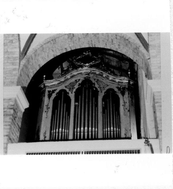 organo - bottega ligure (sec. XVIII)