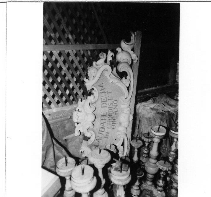 organo - bottega toscana (sec. XIX)