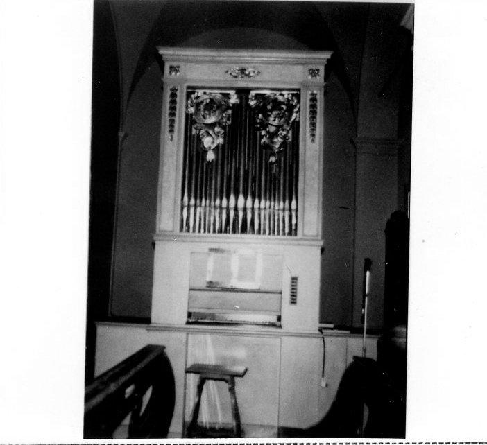 organo di Mazzetti Vincenzo (sec. XIX)