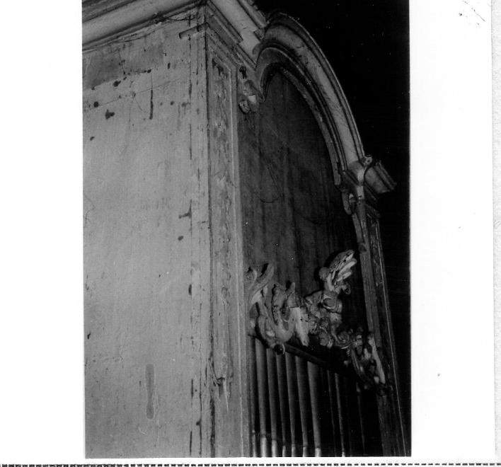 organo di Traeri Agostino (attribuito) (sec. XVIII)