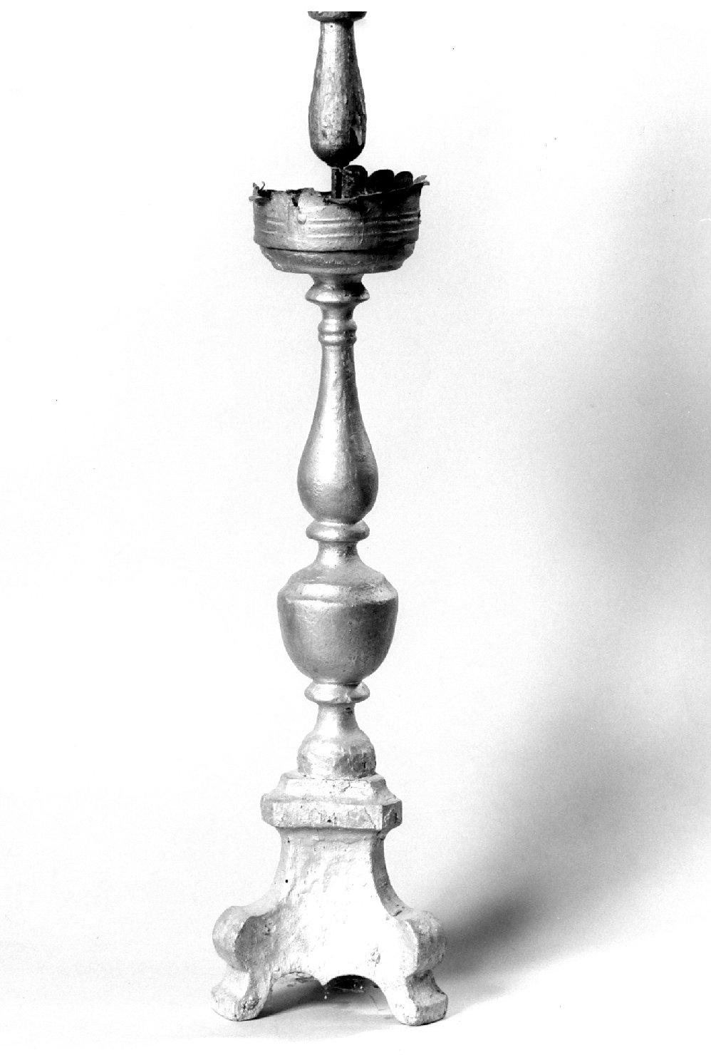 candeliere, serie - manifattura emiliana (fine sec. XVIII)