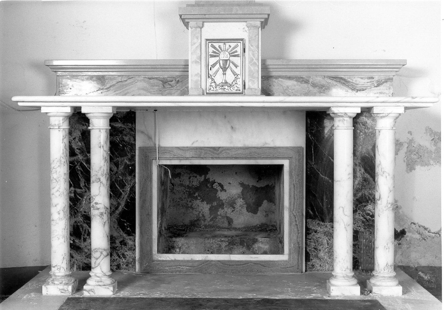 altare - a mensa - bottega emiliana (inizio sec. XX)