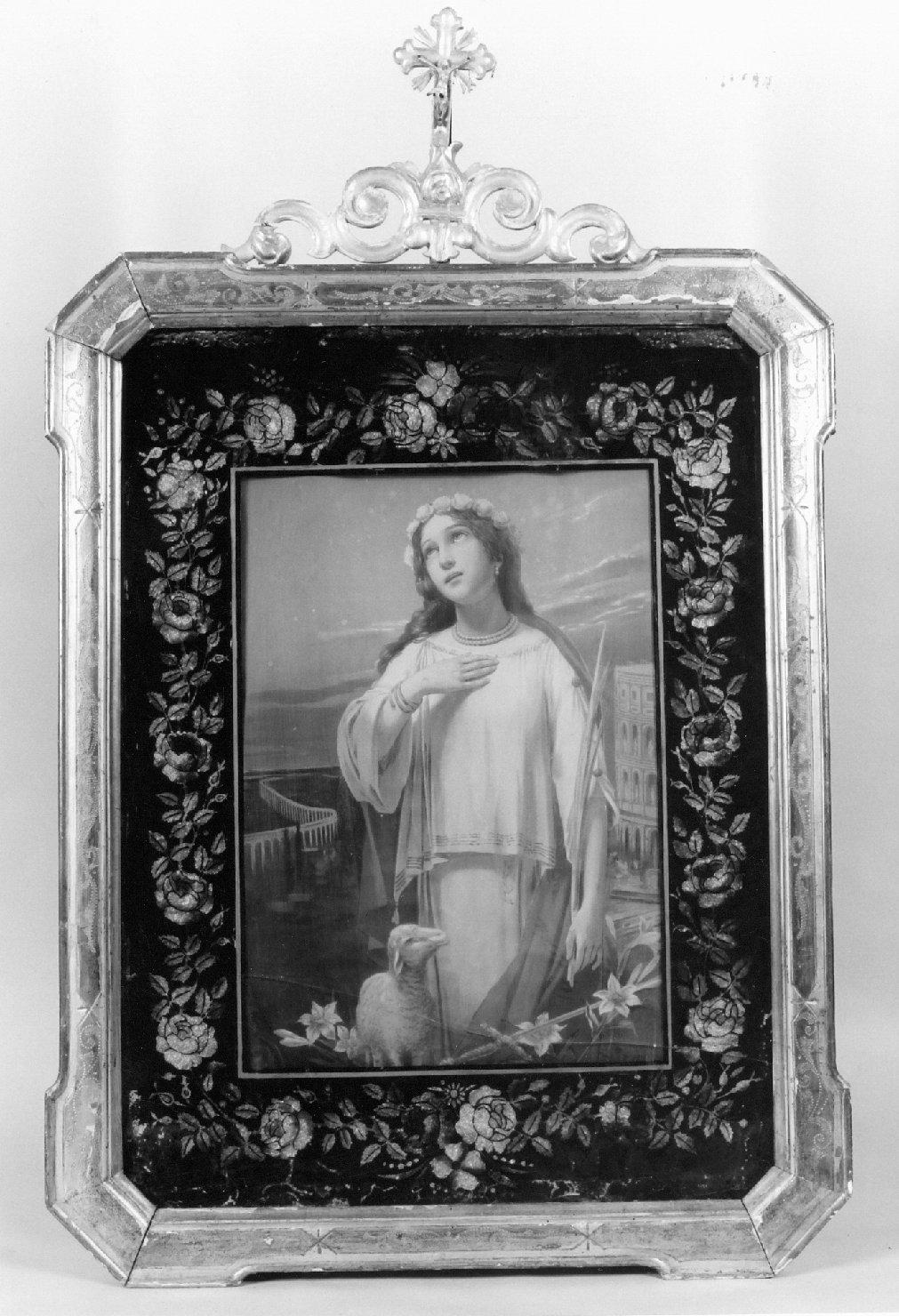 quadro d'altare - manifattura emiliana (metà sec. XIX)