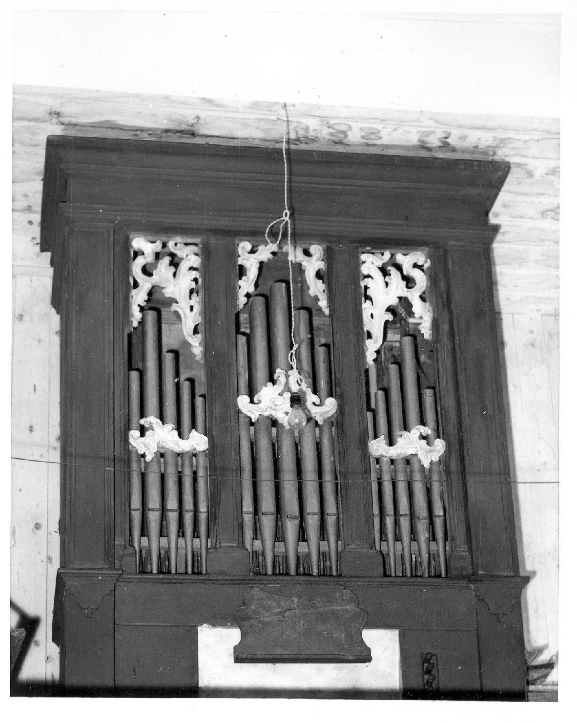 organo di Traeri Agostino (sec. XVIII)
