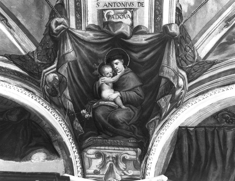 Sant'Antonio da Padova (dipinto, elemento d'insieme) di Conti Giovanni Maria detto Della Camera (e aiuti), Lombardi Antonio, Reti Francesco Maria (terzo quarto sec. XVII)