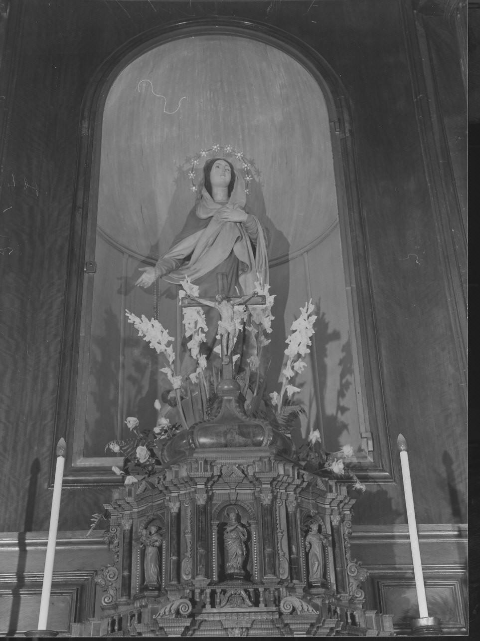 Cristo crocifisso (crocifisso, elemento d'insieme) - bottega ligure (sec. XIX)