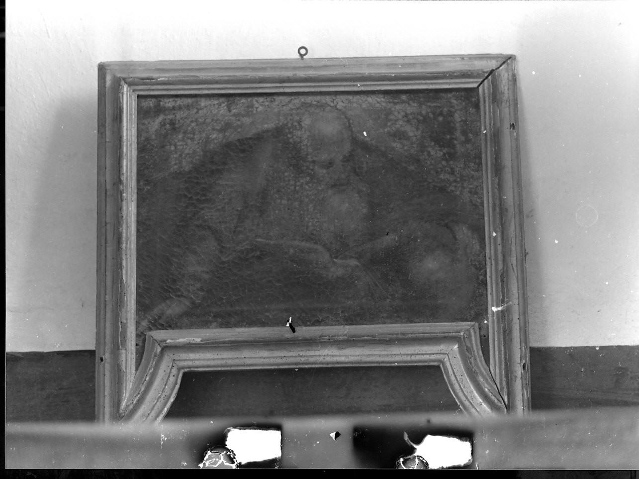 Dio Padre (dipinto, opera isolata) - ambito ligure (prima metà sec. XVII)