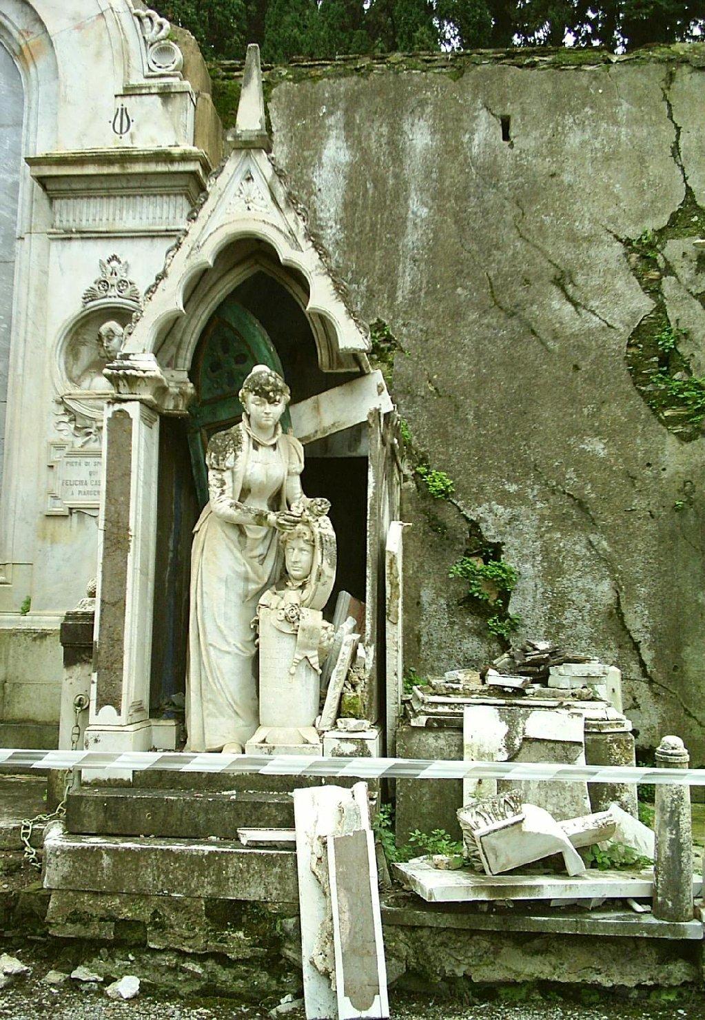 monumento funebre - a cappella, opera isolata - ambito ligure (fine sec. XIX)