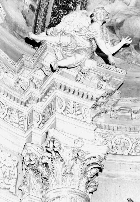 angelo (statua) - ambito romano (metà sec. XVIII)
