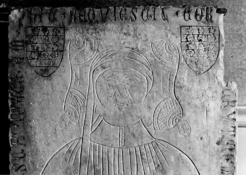 lapide tombale - ambito romano (sec. XIV)