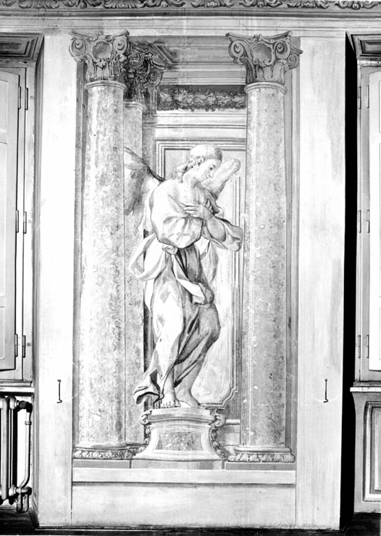angeli (dipinto) - ambito romano (sec. XIX)